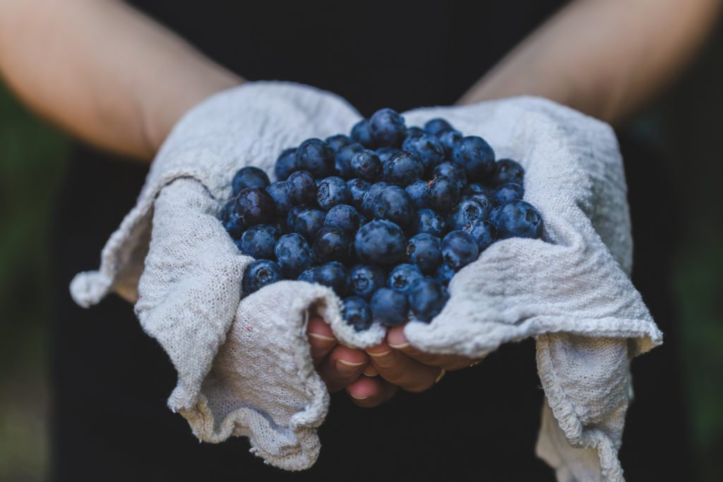 Blueberries are a strong anti-inflammatory.
